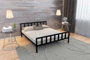 Двухспальная металлическая кровать Тринго - Мебельная фабрика «Стиллмет»