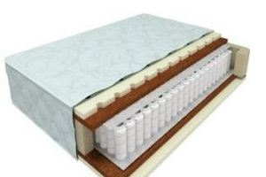 Двухсторонний матрас с независимым блоком Элит-8 - Мебельная фабрика «Nord West»