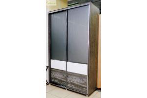 Двухстворчатый шкаф-купе Модель 39 - Мебельная фабрика «Дэрия»