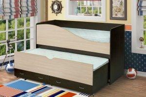 Двухуровневая кровать для детей Радуга - Мебельная фабрика «Уютный Дом»