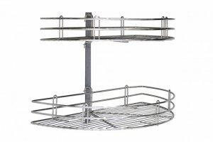 Двухуровневая полка для кухни Corner Basket Артикул: AF22650CNEW - Оптовый поставщик комплектующих «Аметист»