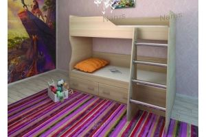 Двухъярусная детская кровать - Мебельная фабрика «НАРУС»