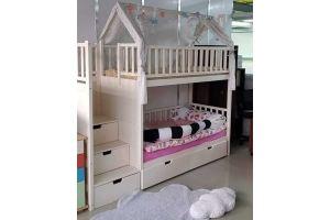 Двухъярусная кровать Арабелла - Мебельная фабрика «Ёлочка»