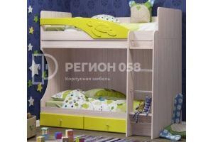 Двухъярусная кровать Бемби - Мебельная фабрика «Регион 058»