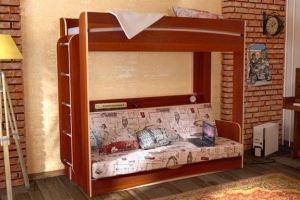 Двухъярусная кровать Дарья - Мебельная фабрика «Евромебель»