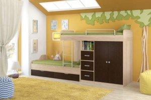 Двухъярусная Кровать Дельта СВ - Мебельная фабрика «Формула мебели»