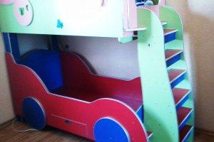 Двухъярусная кровать для мальчика и девочки - Мебельная фабрика «Vart mebel»