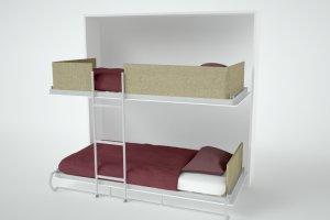 Двухъярусная кровать DUOS Трансформер SMARTI - Мебельная фабрика «Anderssen»