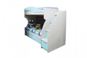 Двухъярусная кровать Элегия-1 М - Мебельная фабрика «Сибирь»
