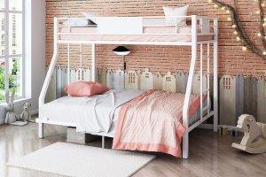 Двухъярусная кровать Гранада 140 белая - Мебельная фабрика «Формула мебели»