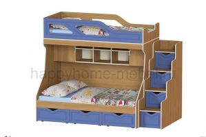 Двухъярусная кровать HAPPY KIDS K-6А - Мебельная фабрика «Happy home»