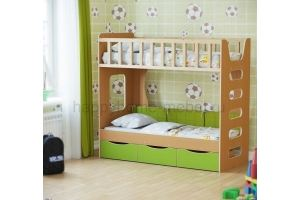 Двухъярусная кровать HAPPY KIDS LITTLE 2 - Мебельная фабрика «Happy home»
