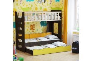 Двухъярусная кровать HAPPY KIDS MIDDLE 2 - Мебельная фабрика «Happy home»