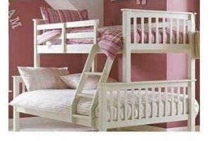 Двухъярусная кровать из дерева - Мебельная фабрика «Лик»