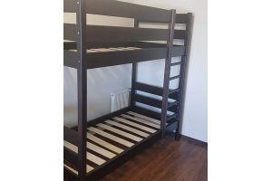 Двухъярусная кровать из массива бука - Мебельная фабрика «Лисер»