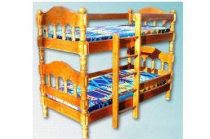 ДВУХЪЯРУСНАЯ КРОВАТЬ  КАРОЛИНА - Мебельная фабрика «Мебель Мос»