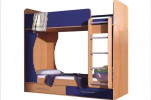 Двухъярусная кровать Каспер Люкс - Мебельная фабрика «VLAST»