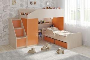 Двухъярусная кровать Легенда 11.10 - Мебельная фабрика «Легенда»