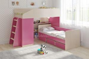Двухъярусная кровать Легенда 11.11 - Мебельная фабрика «Легенда»