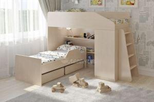 Двухъярусная кровать Легенда 11.9 - Мебельная фабрика «Легенда»