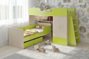 Двухъярусная кровать Легенда 3.11 - Мебельная фабрика «Легенда»