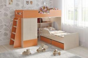 Двухъярусная кровать Легенда 3.9 - Мебельная фабрика «Легенда»