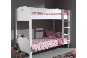 Двухъярусная кровать Принцесса - Мебельная фабрика «Массив мастер», г. Екатеринбург