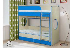 Двухъярусная кровать Радуга-7 - Мебельная фабрика «Уютный Дом», г. Ульяновск