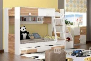 Двухъярусная кровать Rich Oak - Мебельная фабрика «ТомиНики»