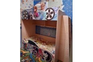 Двухъярусная кровать с яркой фотопечатью - Мебельная фабрика «ПМК ВиП»