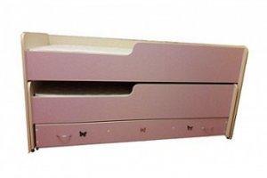 Двухъярусная кровать с ящиком - Мебельная фабрика «Alicio»