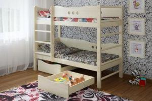 Двухъярусная кровать со шведской стенкой Легенда 18.2 - Мебельная фабрика «Легенда»