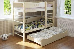Двухъярусная кровать со шведской стенкой Легенда 18.3 - Мебельная фабрика «Легенда»