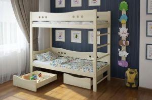 Двухъярусная кровать со шведской стенкой Легенда 20.1 - Мебельная фабрика «Легенда»