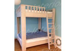 Двухъярусная кровать в детскую - Мебельная фабрика «Velvet-Interior»