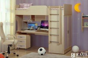 Двухъярусная кровать в детскую - Мебельная фабрика «РАУС»