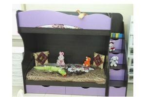Двухъярусная кровать Валерия - Мебельная фабрика «Дэрия»