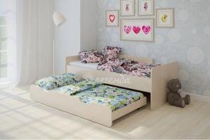 Двухъярусная кровать выдвижная Легенда 14.2 - Мебельная фабрика «Легенда»