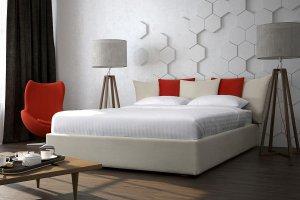 Двуспальная Кровать Аврора - Мебельная фабрика «NEXTFORM»