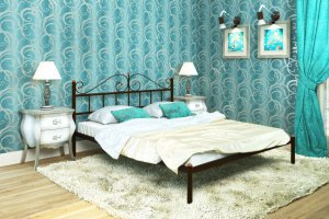 Двуспальная кровать Диана - Импортёр мебели «Мебвилл»