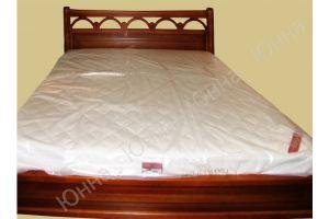 Двуспальная кровать из массива  - Мебельная фабрика «ЮННА»