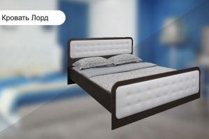 Двуспальная кровать Лорд - Мебельная фабрика «Галант»