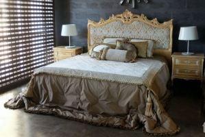 Двуспальная кровать Notte 1 - Мебельная фабрика «Фурман»
