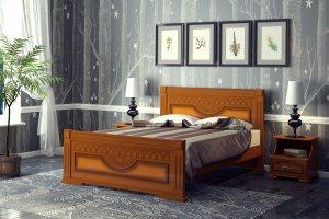Двуспальная кровать Премьера - Мебельная фабрика «DM- darinamebel»