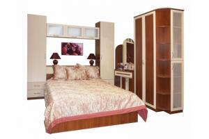Двуспальная кровать Соня-146 с двумя ящиками - Мебельная фабрика «Балтика мебель»
