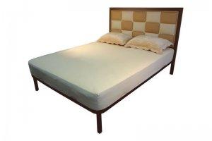 Двуспальная кровать в стиле ЛОФТ Доминика - Мебельная фабрика «Металл Конструкция»