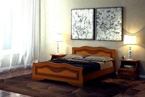 Двуспальная кровать Венеция - Мебельная фабрика «DM- darinamebel»