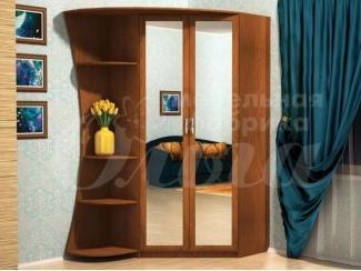 Распашной шкаф с полками Дубрава - Мебельная фабрика «Ольга»