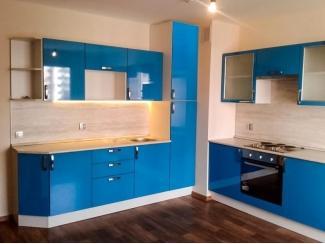Угловая Синяя кухня - Мебельная фабрика «Моя кухня», г. Санкт-Петербург