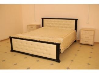 Кровать с каретной стяжкой Маркиза - Мебельная фабрика «кроватей Фаворит»